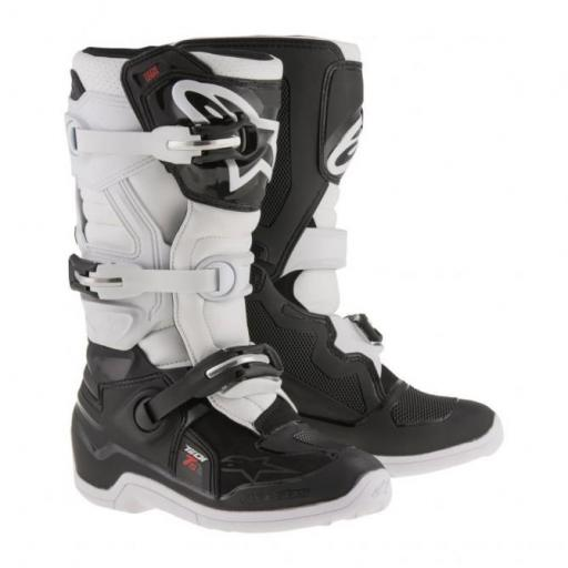 ALPINESTARS TECH 7 JUNIOR BLANCAS/NEGRAS [0]