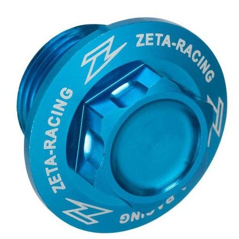 Tornillo eje M20x19-P1.5 H21 Azul