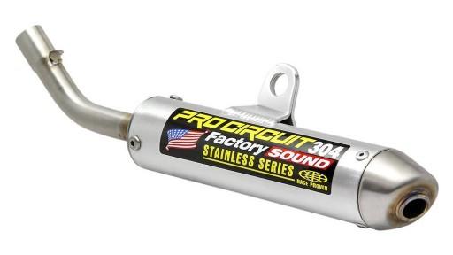 Silencioso Pro Circuit 304: aluminio, tapa de acero inox para KTM/Husqvarna/Gas Gas 65