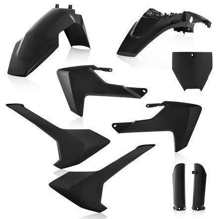 Kit plástica Acerbis Husqvarna TC 65 2016 -2020 Negro
