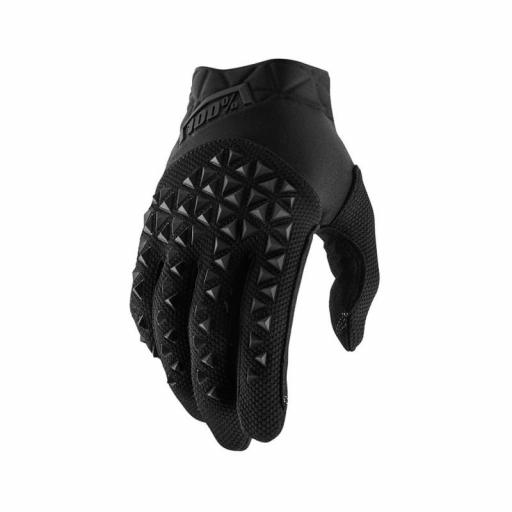 GUANTES 100% AIRMATIC  (NEGRO CARBÓN)