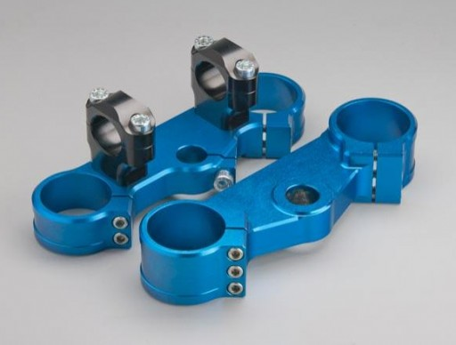 Tijas Tripple clamps Naranja KTM/HUSQVARNA 50 / 65 Azul