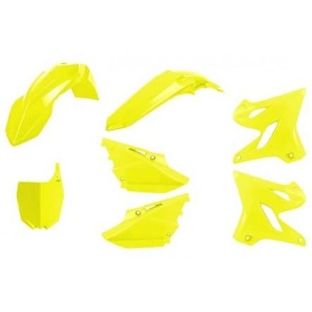 Kit plástica completo Polisport Yamaha amarillo flúor 2015-2020