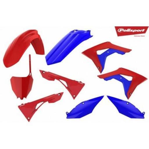 Polisport CRF250/450R 18-19 Rojo / Azul