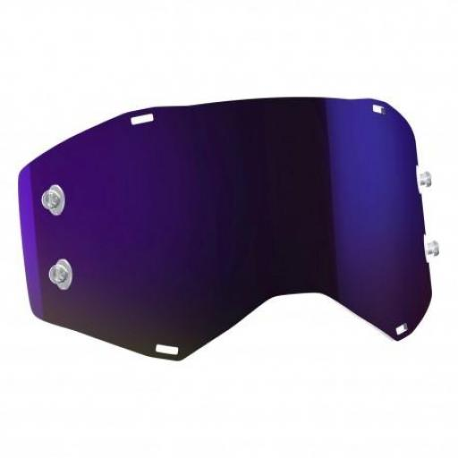 PANTALLA GAFAS SCOTT PROSPECT / FURY SINGLE WORKS - MORADA