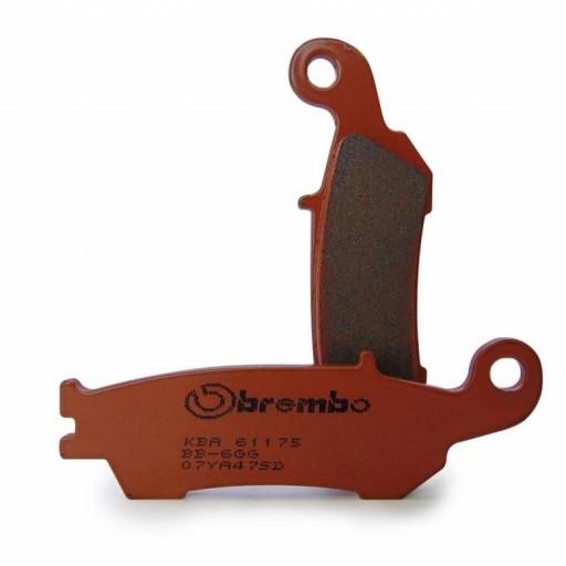 Pastillas de freno DELANTERAS sinterizadas Brembo 07YA47SD