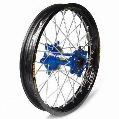 Rueda completa Haan Wheels aro negro 18-2,15 buje azul 1 36012/3/5