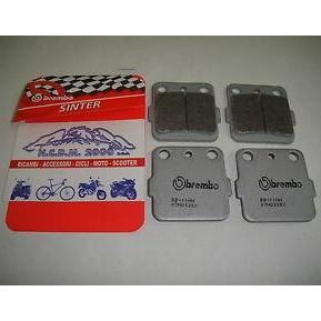 Pastillas delanteras de freno sintetizadas Brembo 07HO32SX YZ 65 / 85
