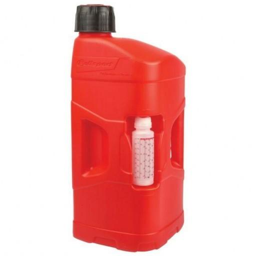 Garrafa de gasolina Polisport ProOctane 10L Roja