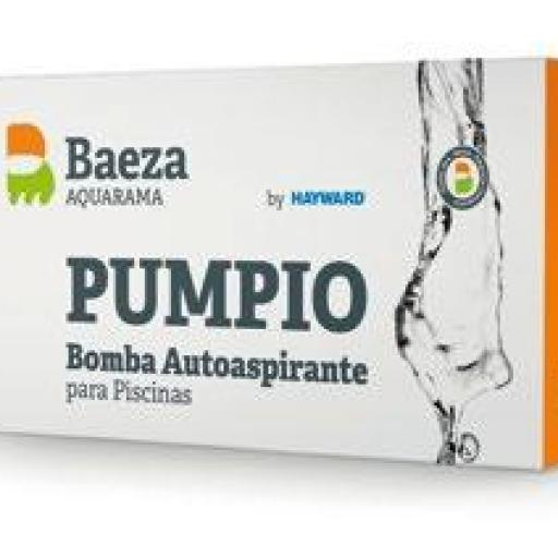 BOMBA AUTOASPIRANTE PUMPIO 100M