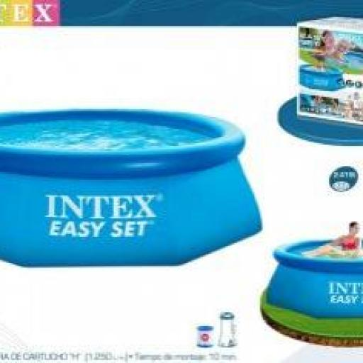 PISCINA EASY SET 244X76 CM C/DEPUR.
