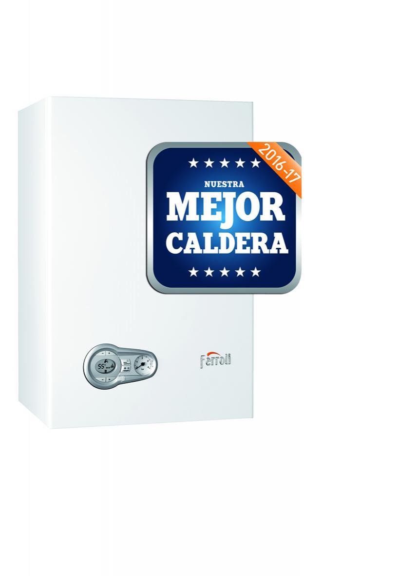 Caldera mural condens. BLUEHELIX TECH 35 CN + kit gases est.