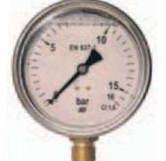 MANOM. GLICERINA 0-4 KG.63MM 1/4 LAT