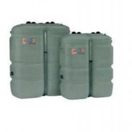 Descripcion:  Depósito doble pared Tank in Tank para gasóleo en polietileno de 750 litros