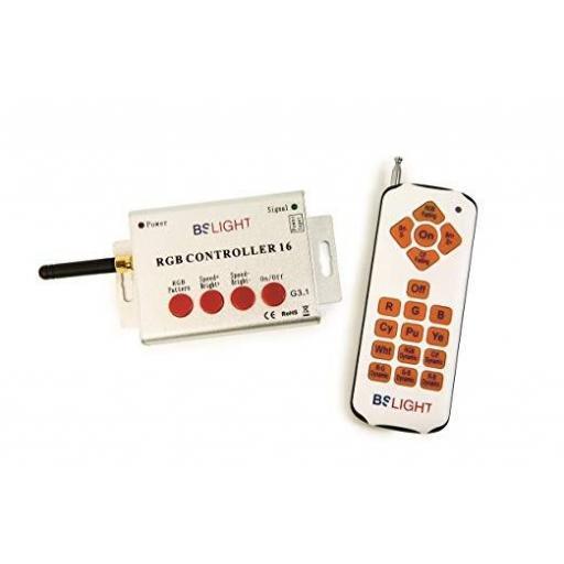 Controlador RGB para PAR56 y proyectores BSV - Cod: RGBCONTROLLER16