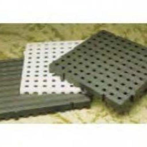 TARIMA PLASTICA 500 X 500 X 25 GRIS