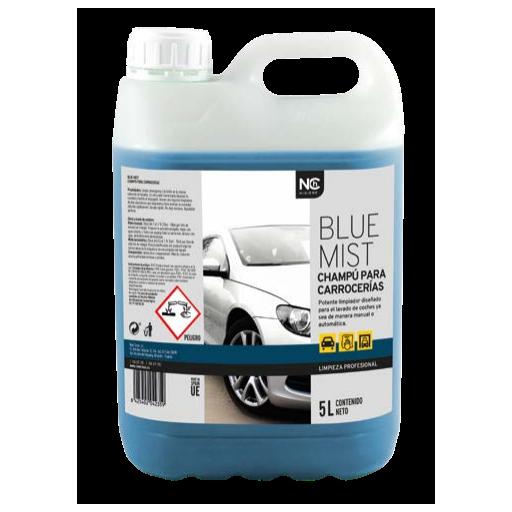 BLUE-MIST - Champú para carrocerías  5 y 20 litros