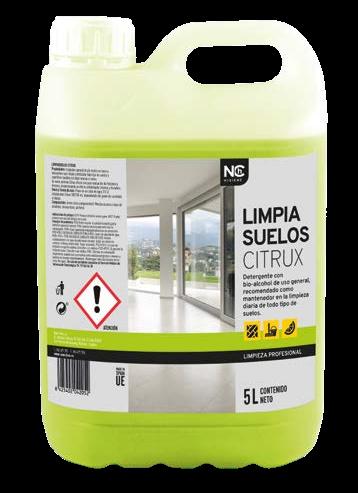 Limpiasuelos citrux 5 litros