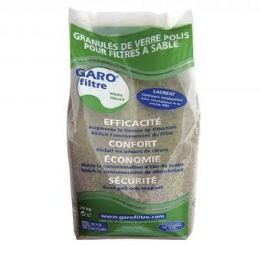 Garo Filtre(vidrio filtrante piscinas)25 kg