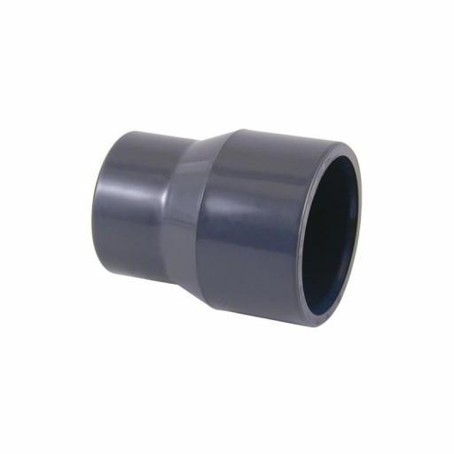 REDUCCION MACHO - HEMBRA LISO PVC D. 40-20 01978