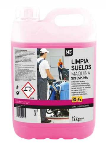 Limpiasuelos máquina sin espuma 6,12 y 24 kg