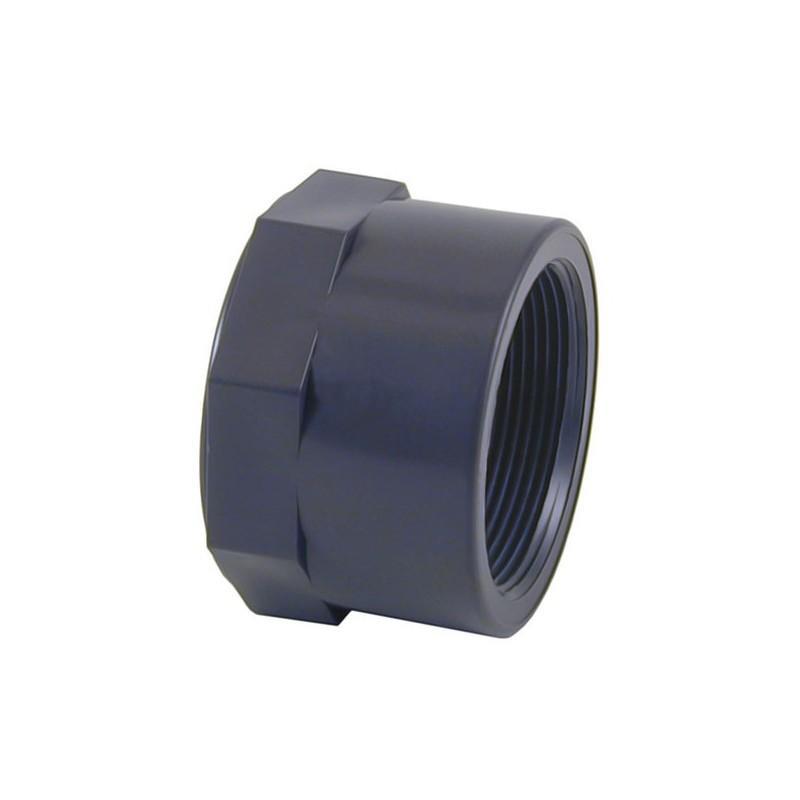 """TAPÓN HEMBRA ROSCADO PVC 1"""" 01960"""
