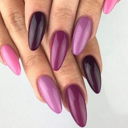 010 Esmalte semipermanente Semilac Pink & Violet 7ml [1]