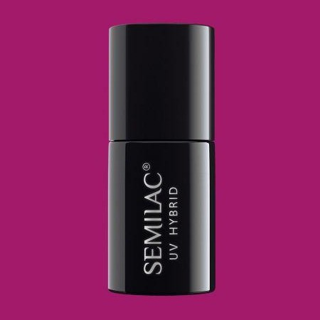 011 Esmalte semipermanente Semilac Purple Diamond 7ml