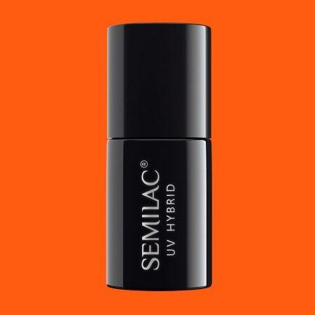 045 Esmalte semipermanente Semilac Electric Orange 7ml