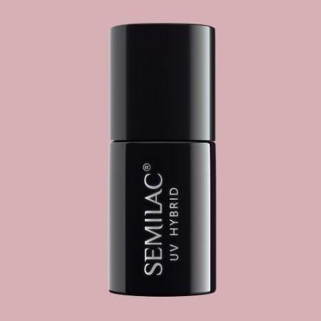 057 Esmalte semipermanente Semilac Nude Beige Rose 7ml