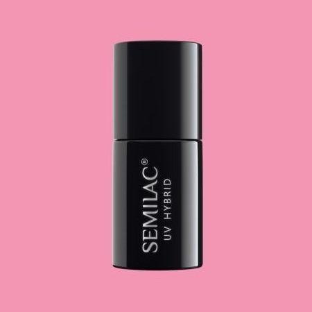 060 Esmalte semipermanente Semilac Bubblegum Pink 7ml