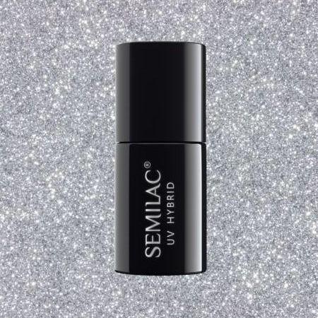 093 Esmalte semipermanente Semilac Silver Dust 7ml