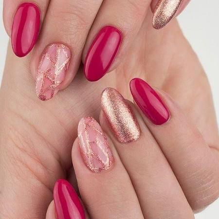 094 Esmalte semipermanente Semilac Pink Gold 7ml [1]