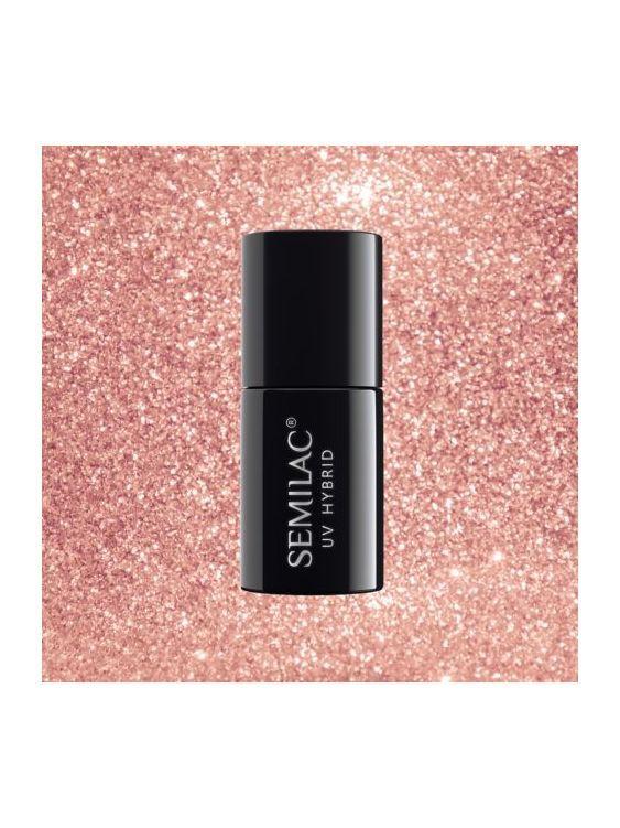 094 Esmalte semipermanente Semilac Pink Gold 7ml