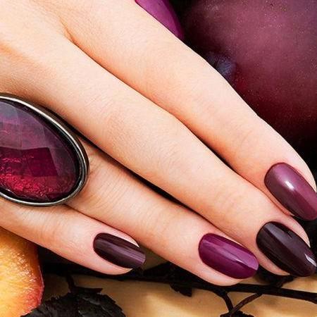 099 Esmalte semipermanente Semilac Dark Purple Wine 7ml [1]