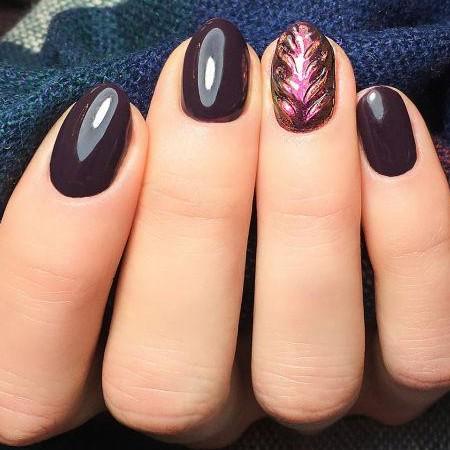 100 Esmalte semipermanente Semilac Black Purple 7ml [1]