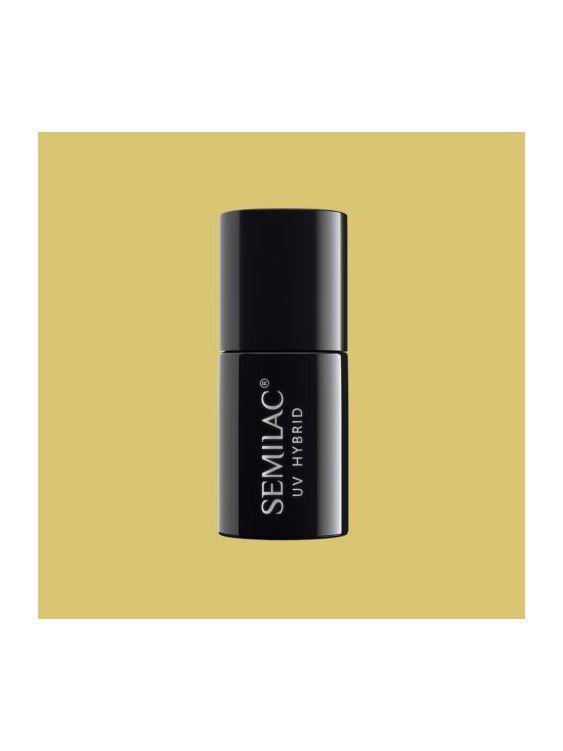 117 Esmalte semipermanente Semilac Yellow Sphinx 7ml