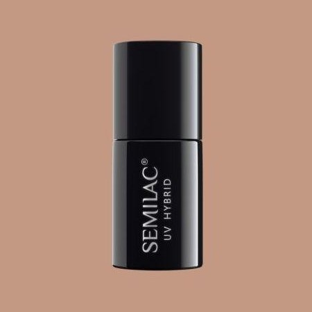 137 Esmalte semipermanente Semilac Cinnamon Coffee 7ml