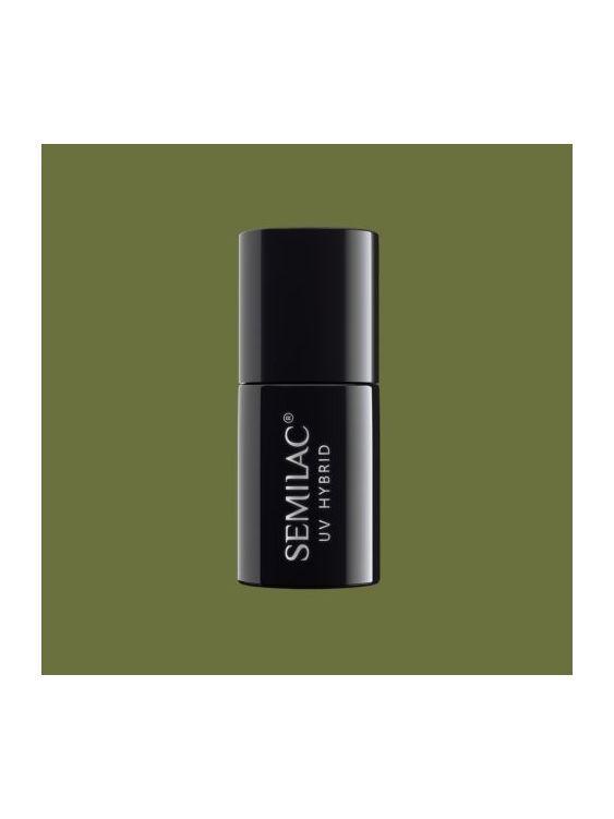 151 Esmalte semipermanente Semilac Army Green 7ml