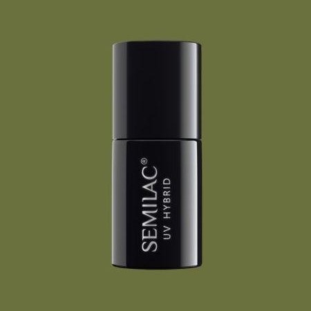151 Esmalte semipermanente Semilac Army Green 7ml