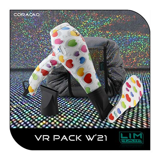 Pack Secador Profesional mas cepillo LIM HAIR VR 4.0 2000 W