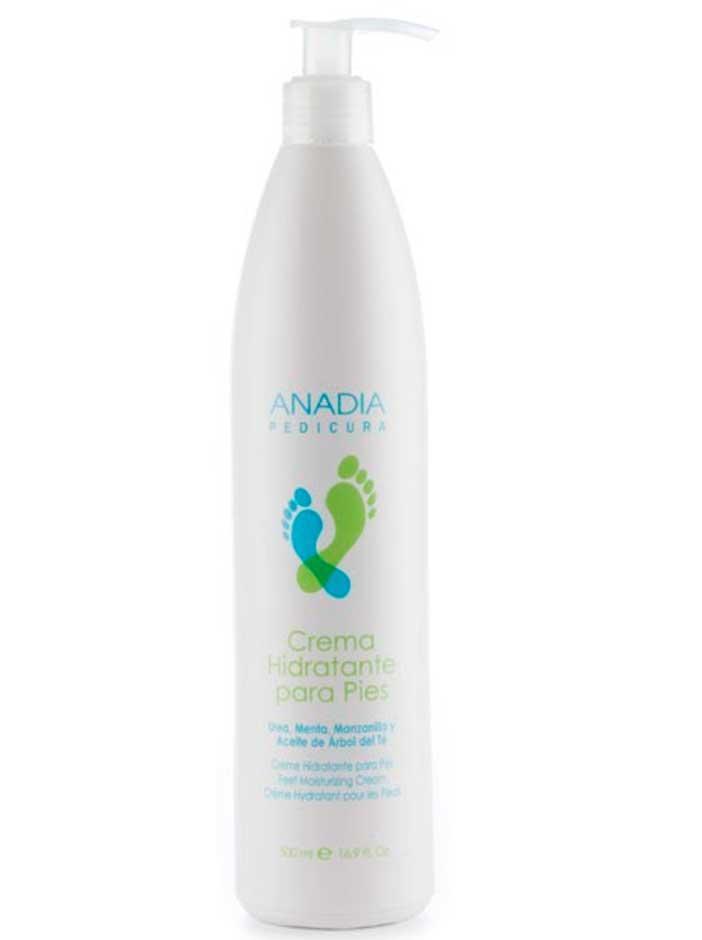 Crema hidratante para pies 500 ml Anadia
