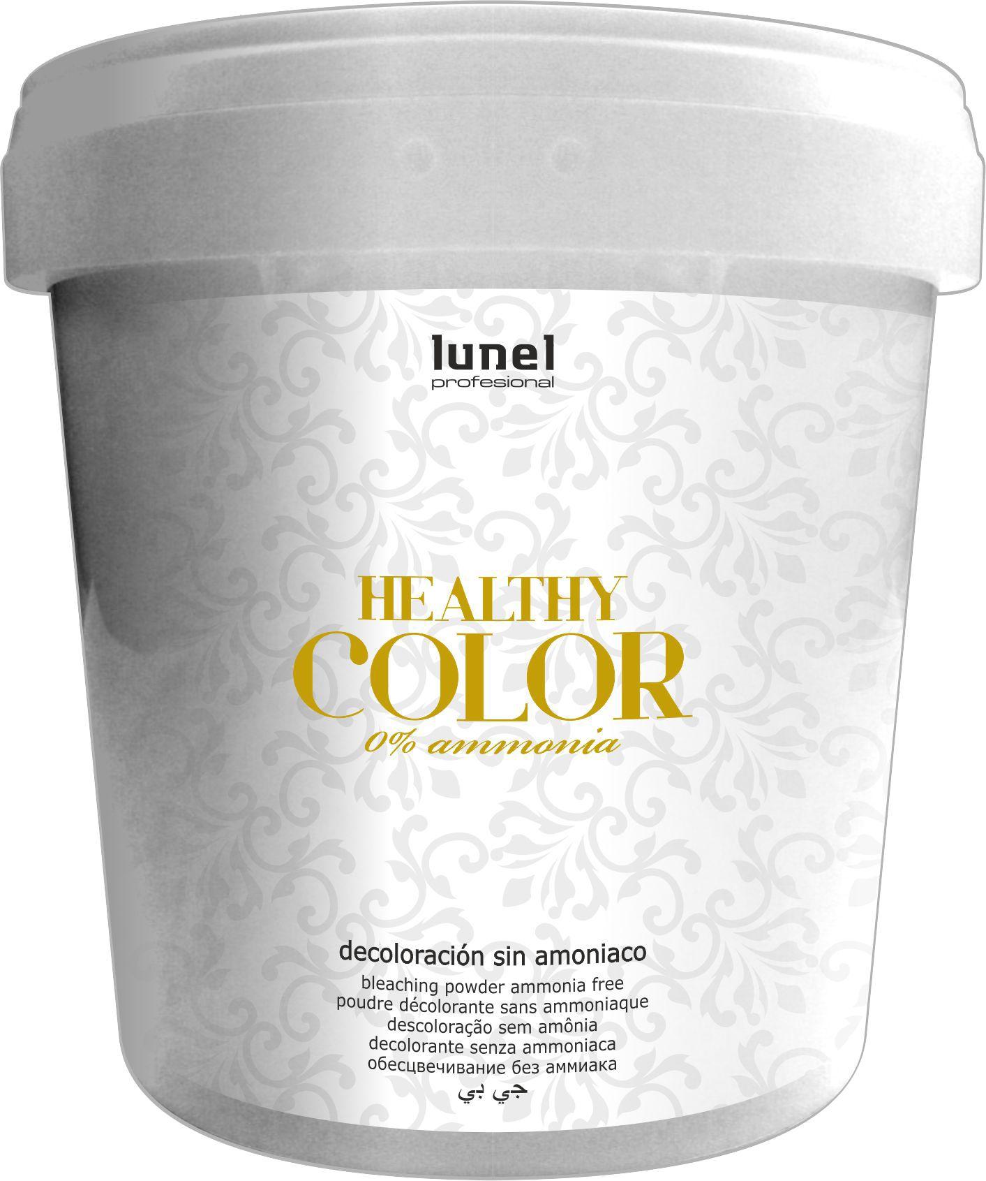 Decoloracion Healthy color sin amoniaco.