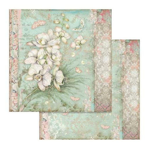 SET DE PAPELES ORCHIDS AND CATS STAMPERIA [2]