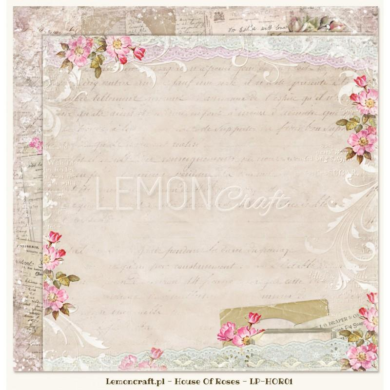 PAPEL HOUSE OF ROSES 01 LEMONCRAFT