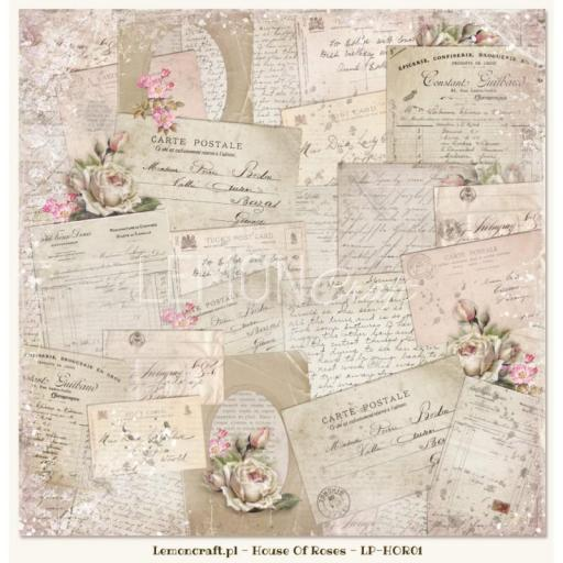 PAPEL HOUSE OF ROSES 01 LEMONCRAFT  [2]