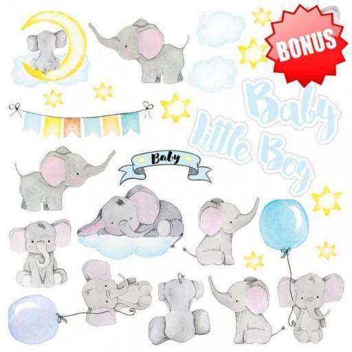 SET DE PAPELES MY LITTLE BABY BOY FABRIKA DECORU [2]
