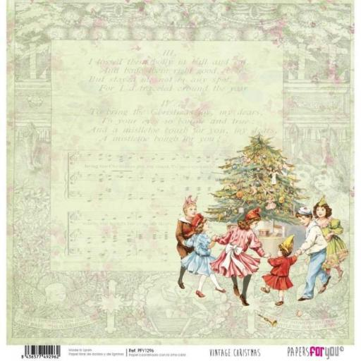 SET DE PAPELES VINTAGE CHRISTMAS TIME PAPERS FOR YOU [2]