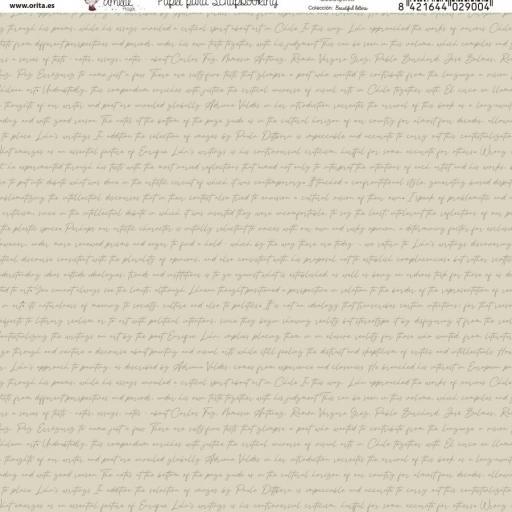 SET DE PAPELES BEAUTIFUL LETTERS AMELIE [2]