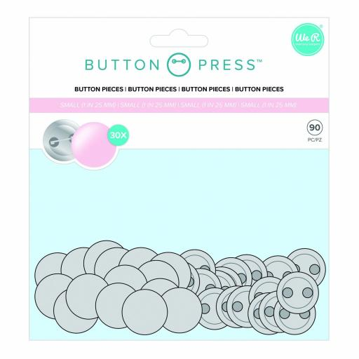 REPUESTOS CHAPAS PEQUEÑAS BUTTON PRESS WE R MEMORY KEEPERS